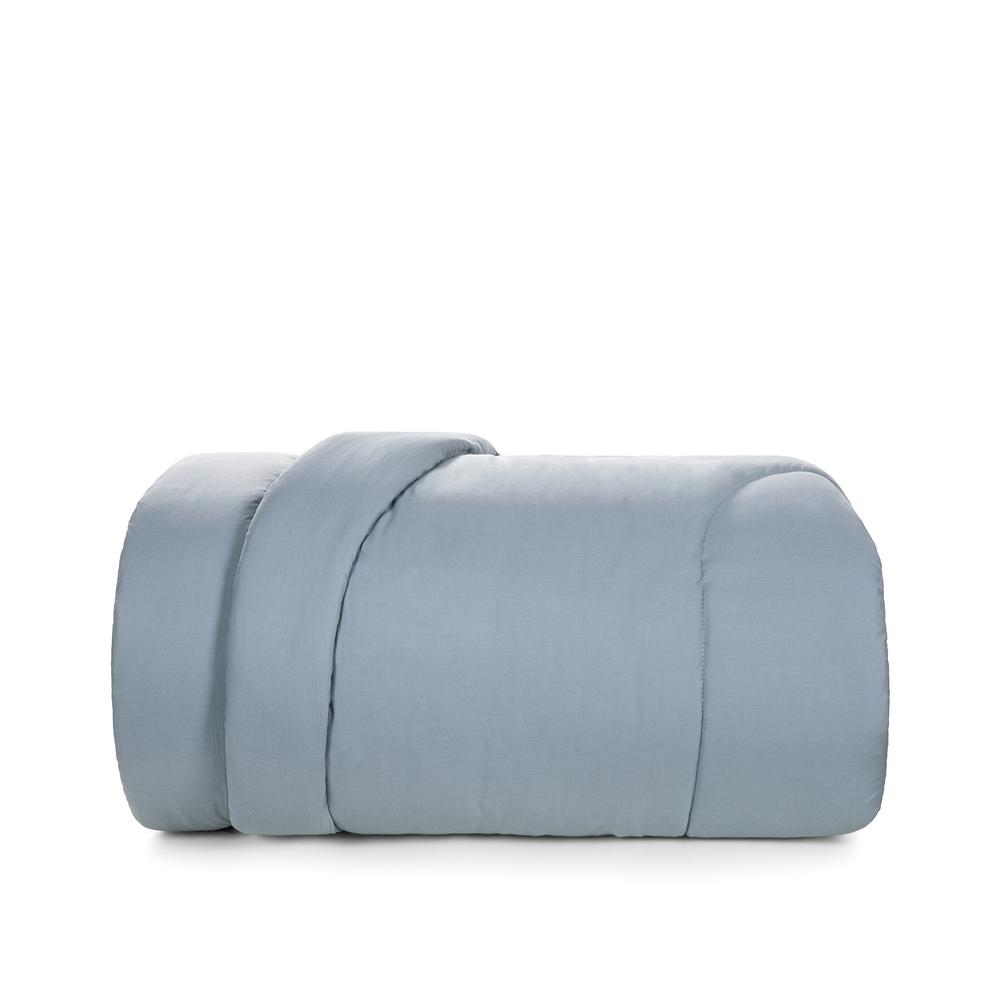 Edredom Queen Azul Allure liss 100% algodão - karsten