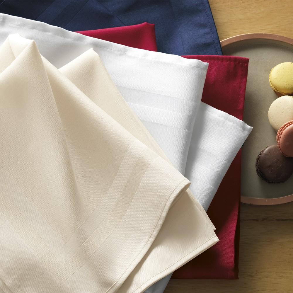 Guardanapo de Tecido 12 Peças 51x51 Gourmet Camurça Karsten