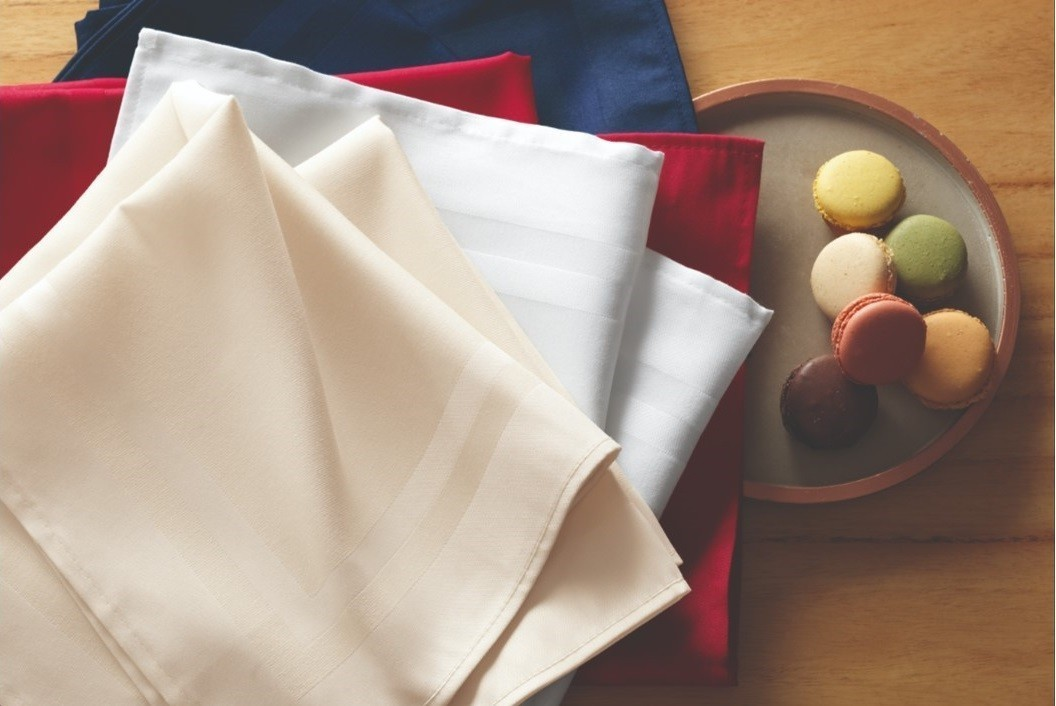 Guardanapo de tecido 6 peças - cor camurça - gourmet - karsten