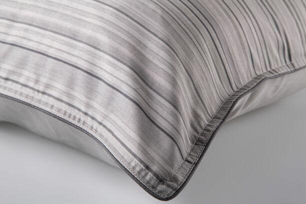 Jogo de Cama Casal Cinza Egípcio 300 fios Guggenheim By The Bed