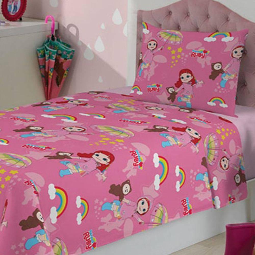35bcb9e06e Jogo de cama infantil Rainbow Ruby Lepper Kids 2 peças