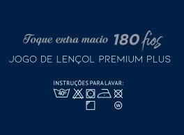 Jogo de lençol Casal Branco Percal 180fios 100% algodão 3 peças - Paloma Home