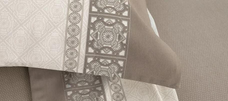 Jogo de lençol Queen Size - 100% Algodão - Portofino  - karsten