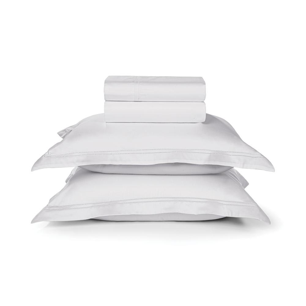 Jogo de lençol Queen Size Galieno branco - Trussardi