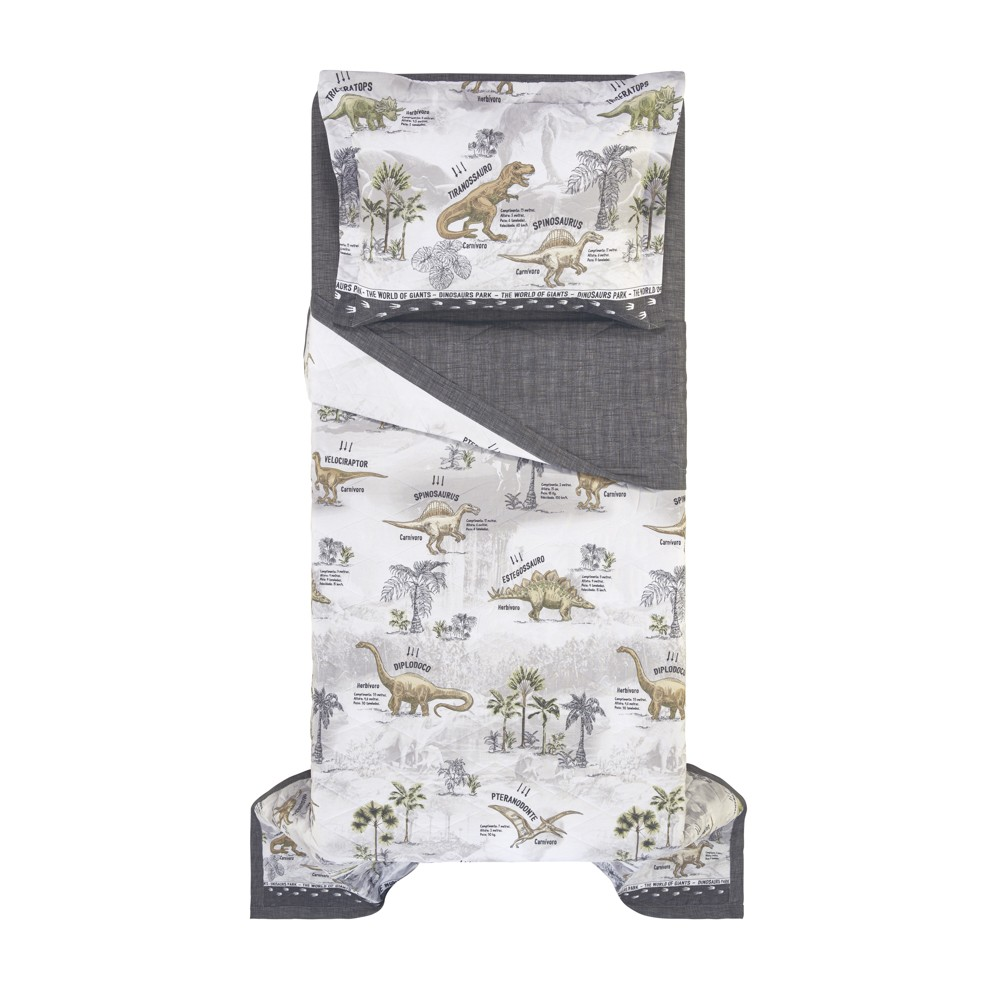 Jogo de lençol solteirão dinossauro 100% algodão - karsten