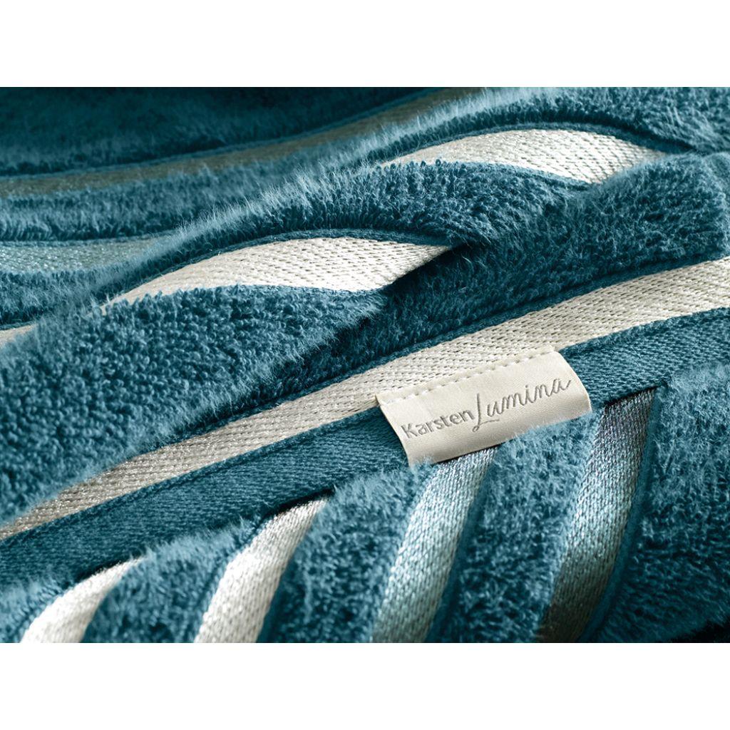 Jogo de Toalhas Banhão 2 Peças Banhão + Rosto  Azul Marinho | Karsten - Lumina