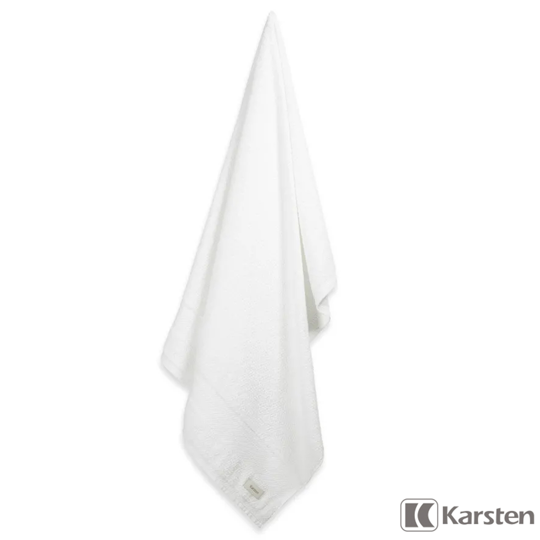 Jogo de toalhas Banhão 5 peças branca Empire Karsten