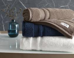 Jogo de toalhas banhão Lorenzi 2 peças Marinho - Trussardi