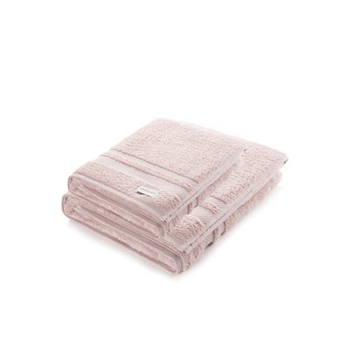 Jogo de toalhas banhão Lorenzi 2 peças Soft Rose Trussardi