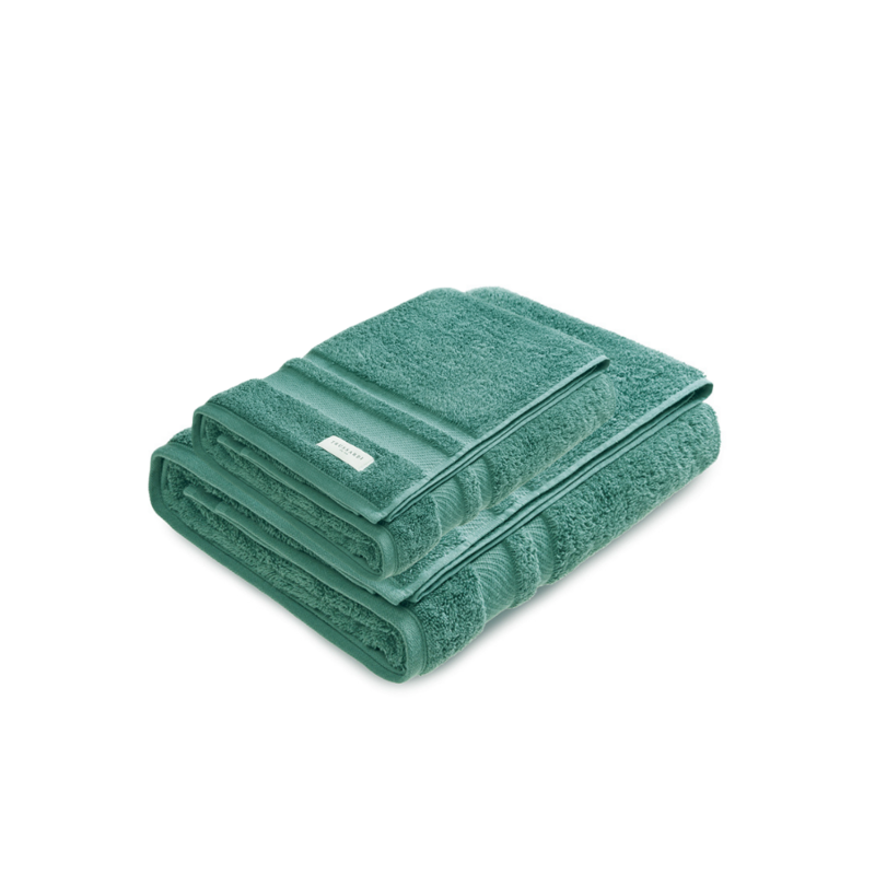 Jogo de Toalhas Banhão Lorenzi 2 peças Verde Boschi Trussardi