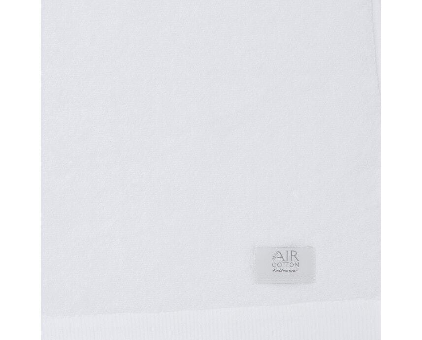 Jogo de Toalhas de Banhão Branca Dual Air 2 Peças Banhão + Rosto Buddemeyer