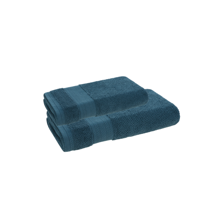 Jogo de toalhas de Banho 2 peças Empire Azul Báltico Karsten