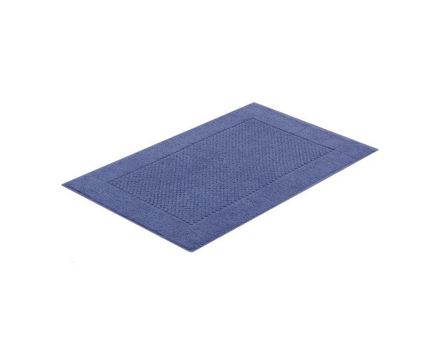Jogo de Toalhas de Banho 5 peças Fio Penteado Canelado Azul Buddemeyer