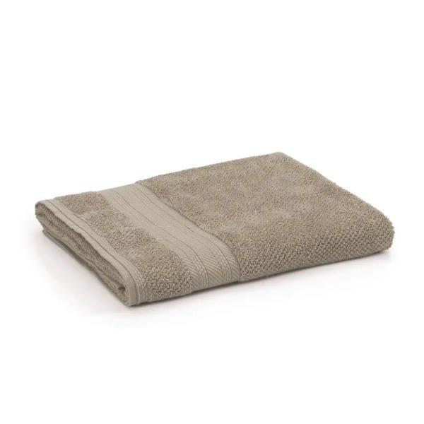 Jogo de toalhas Marrom Taupe 1 rosto+2 banhos Empire Karsten