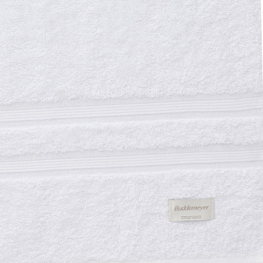 Jogo de Toalhas Super Banhão Algodão Egípcio 2 peças Branco Buddemeyer