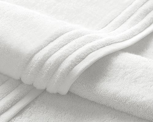 Jogo de Toalhas Trussardi banho 1,40 Branco Imperiale 2peças