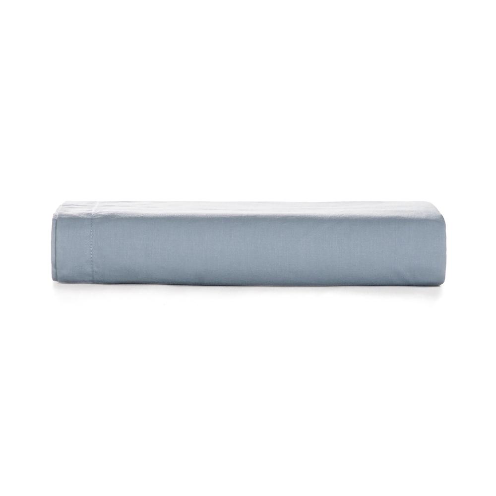 Lençol de Elástico Casal Azul 180 fios Liss - Karsten