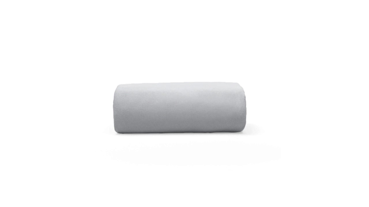 Lençol de Elástico em Malha King Basic Cinza Bouton Cotton