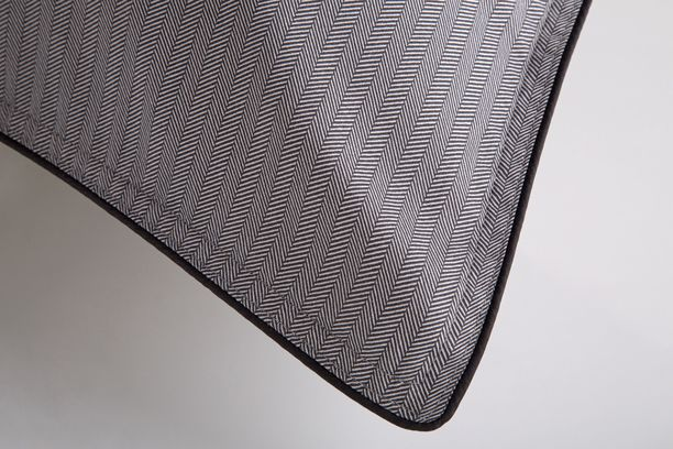 Lençol King Egípcio 300 fios Preto&Branco 59ST ByTheBed - Design Industrial