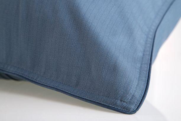 Lençol King Egípcio 300fios Azul Petroleo 59ST ByTheBed - Design Industrial