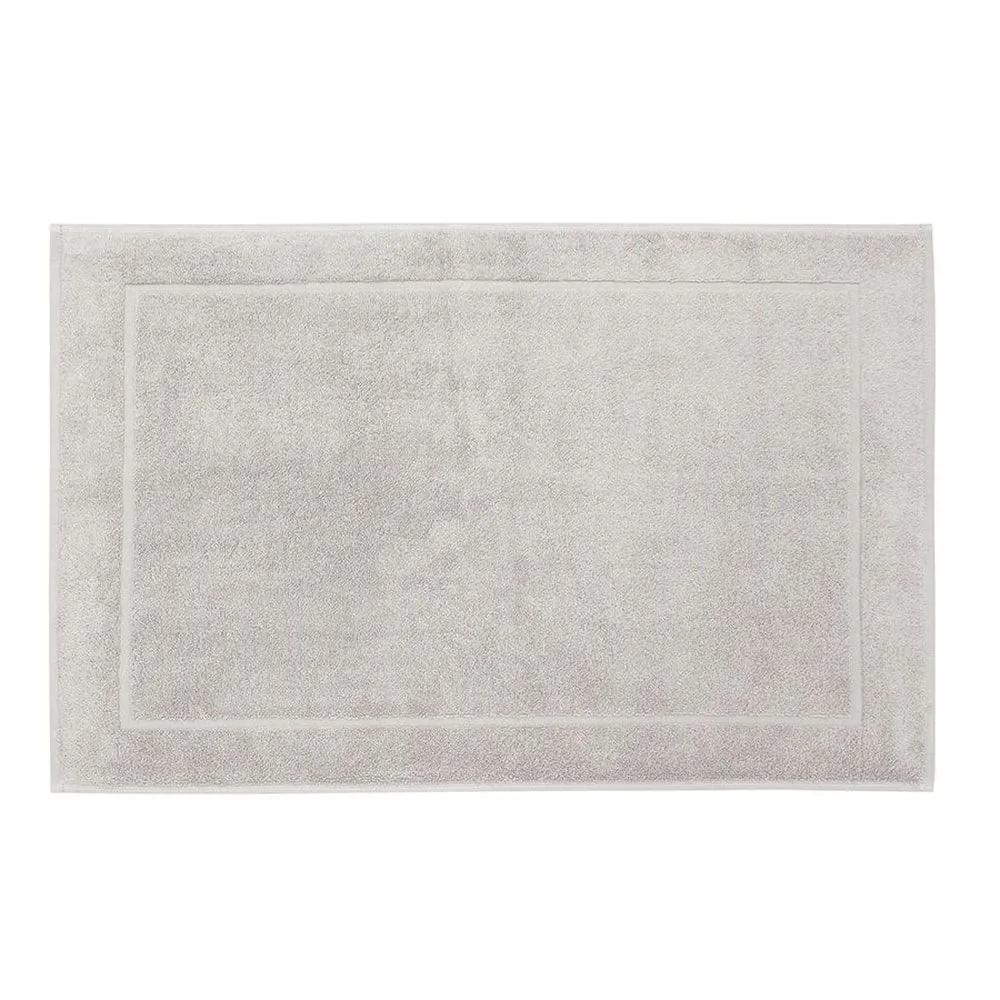 Piso karsten juliet - 100% algodão - gramatura: 680g/m² - cinza