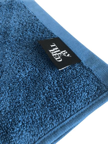 Piso para Banheiro 50x80 Azul Petroleo ByTheBed