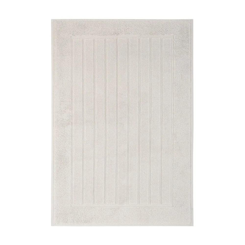 Piso para banheiro antiderrapante branco - extra grande Scala Trussardi