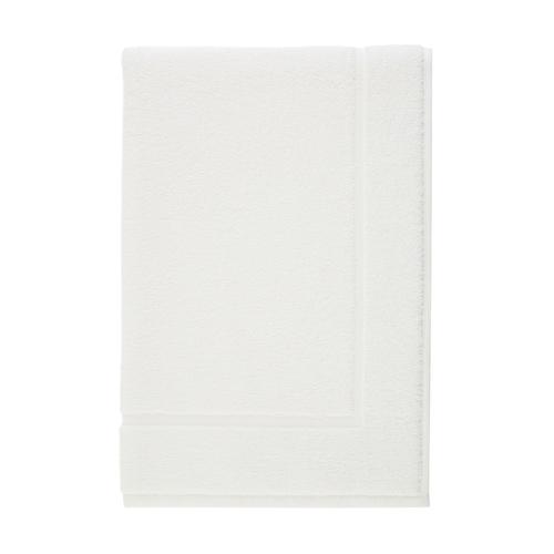 Piso Tapete Para Banheiro Atoalhado Juliet  Branco - Karsten