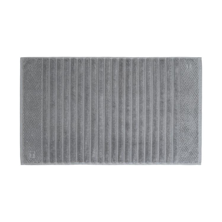 Piso Banheiro Trussardi Ondulato Cinza Granel - gramatura 720 g/m²
