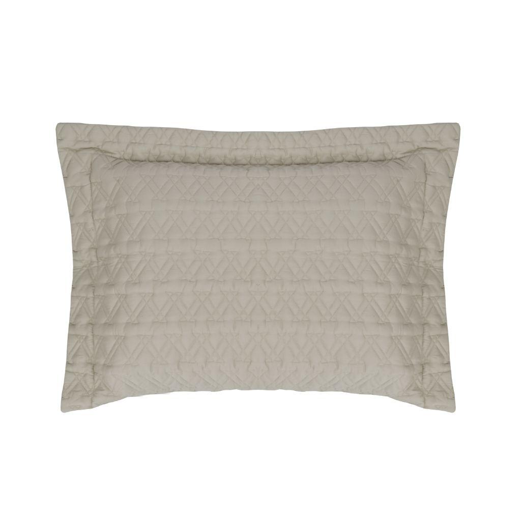 Porta Travesseiro Matelassado Cetim 300 fios   Naturalle - St. Germain Fendi