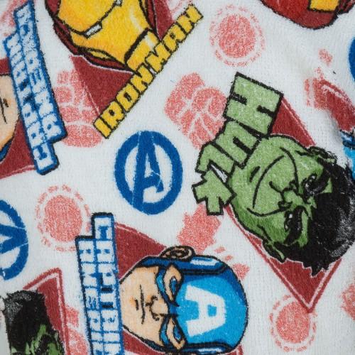 Roupão Infantil Avengers M - 6 a 8 anos - Produto Original Lepper