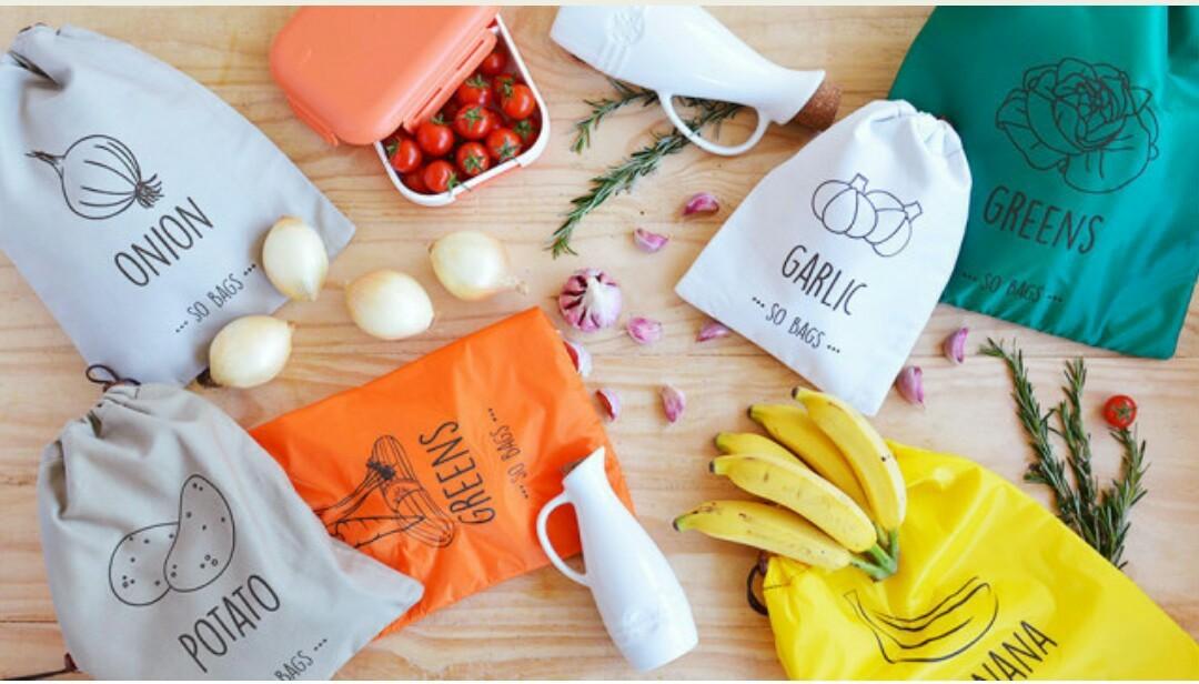 Saco de Armazenagem Greens Cenouras e Vegetais - So Bags