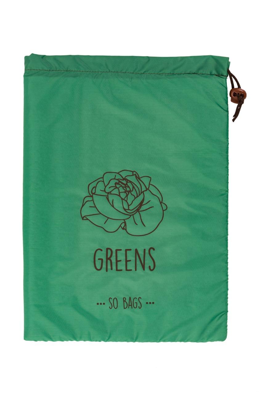 Saco de Armazenagem Greens Verde Folhagens - So Bags