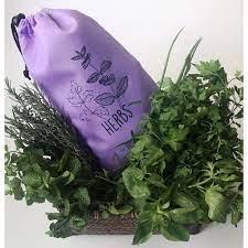 Saco de Armazenagem Herbs - Ideal para Ervas Lilás - So Bags