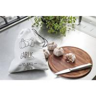 Saco de Armazenagem para Alho Garlic em algodão - So Bags