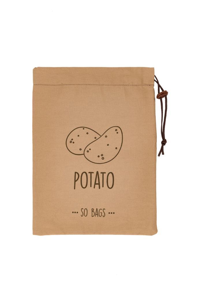 Saco de Armazenagem para Batatas Potato em algodão - So Bags
