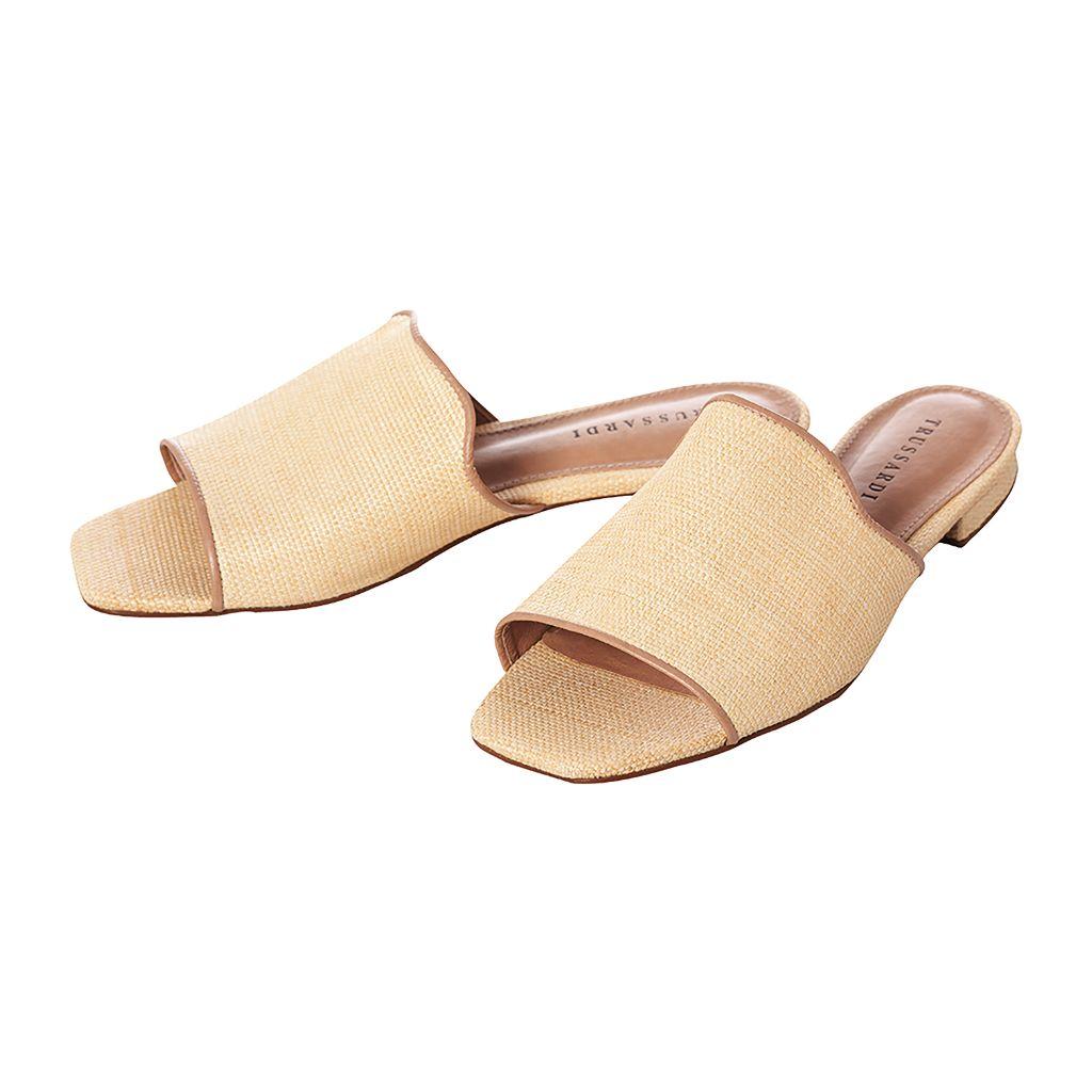Sandalia Tamanho 37 Palha Feito à Mão | Trussardi - Accorsi