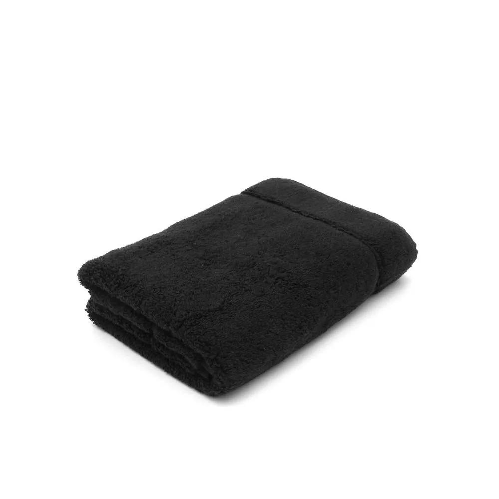 Piso tapete para banheiro atoalhado Juliet – preto - Karsten
