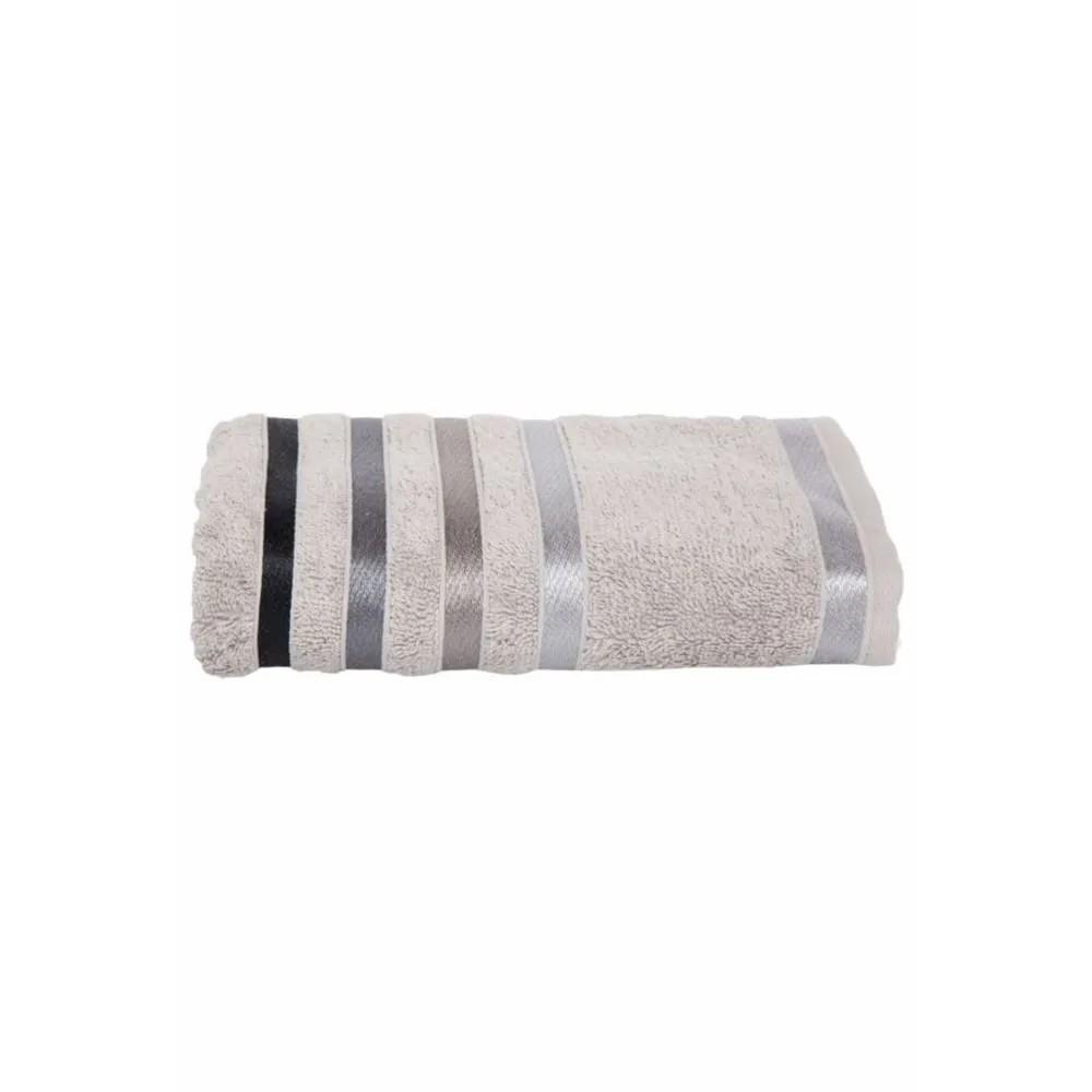Toalha banhão cinza Lumina  Felpa pesada 500g/m2 - karsten