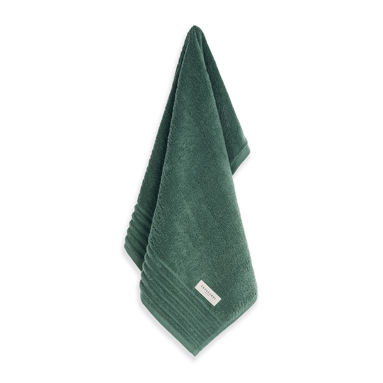 Toalha Banhão Verde Boschi Imperiale 86x150cm Trussardi