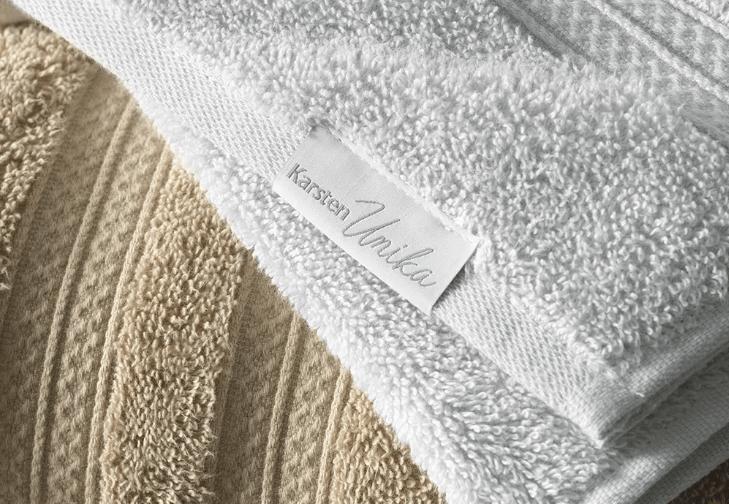 Toalha de Banho Branca Unika - Karsten
