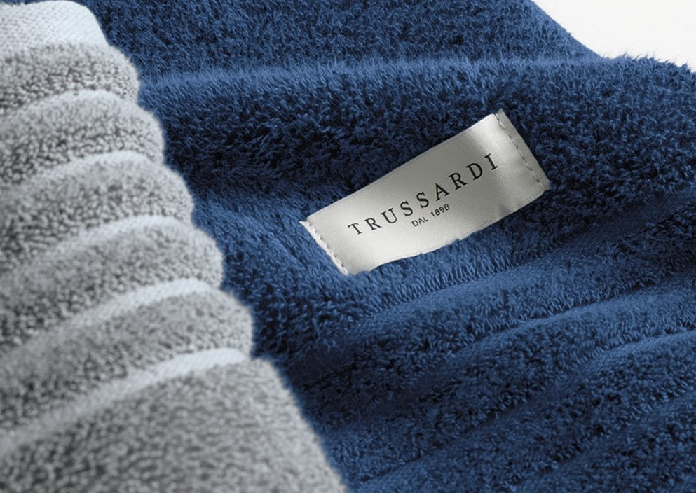 Toalha de Banho Imperiale Branca Premium Trussardi