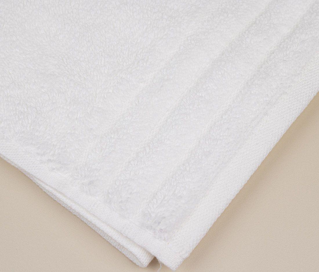 Toalha de lavabo branca imperiale - 1 peça - Trussardi