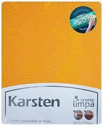 Toalha de mesa amarela redonda 6 lugares 1,78 - Tropical - karsten - sempre limpa