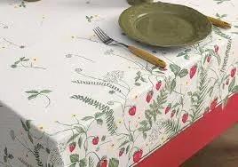 Toalha de mesa quadrada 4 lugares Frutalia 1,40x1,40m - Dia a Dia - Karsten