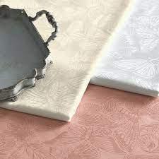 Toalha de Mesa Redonda 1,60cm Arbela Bege Natural Karsten