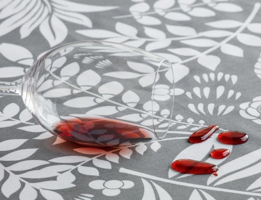 Toalha de mesa retangular limpa fácil 6 lugares 1,40x 2,10m temperos pratic raner