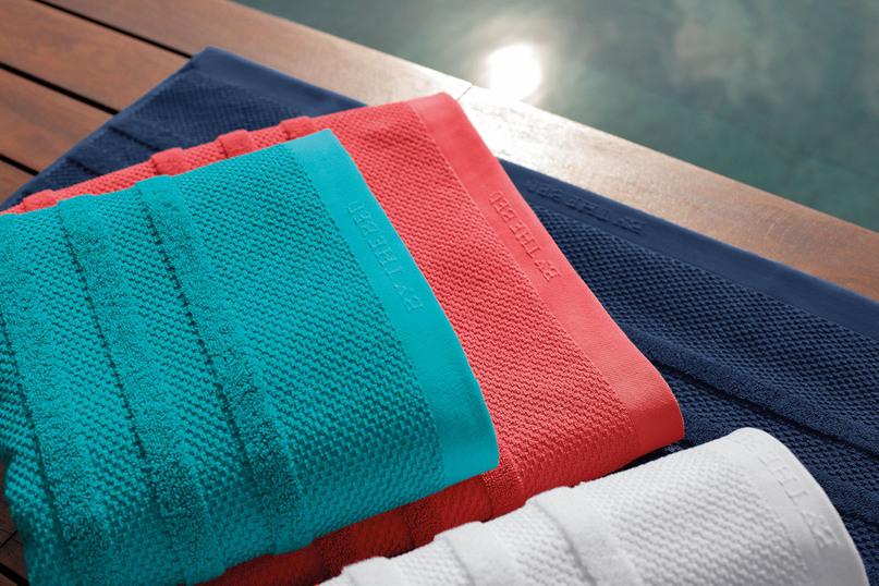 Toalha de Praia Azul Marinho 86x180cm - 100% Algodão - Brise ByTheBed