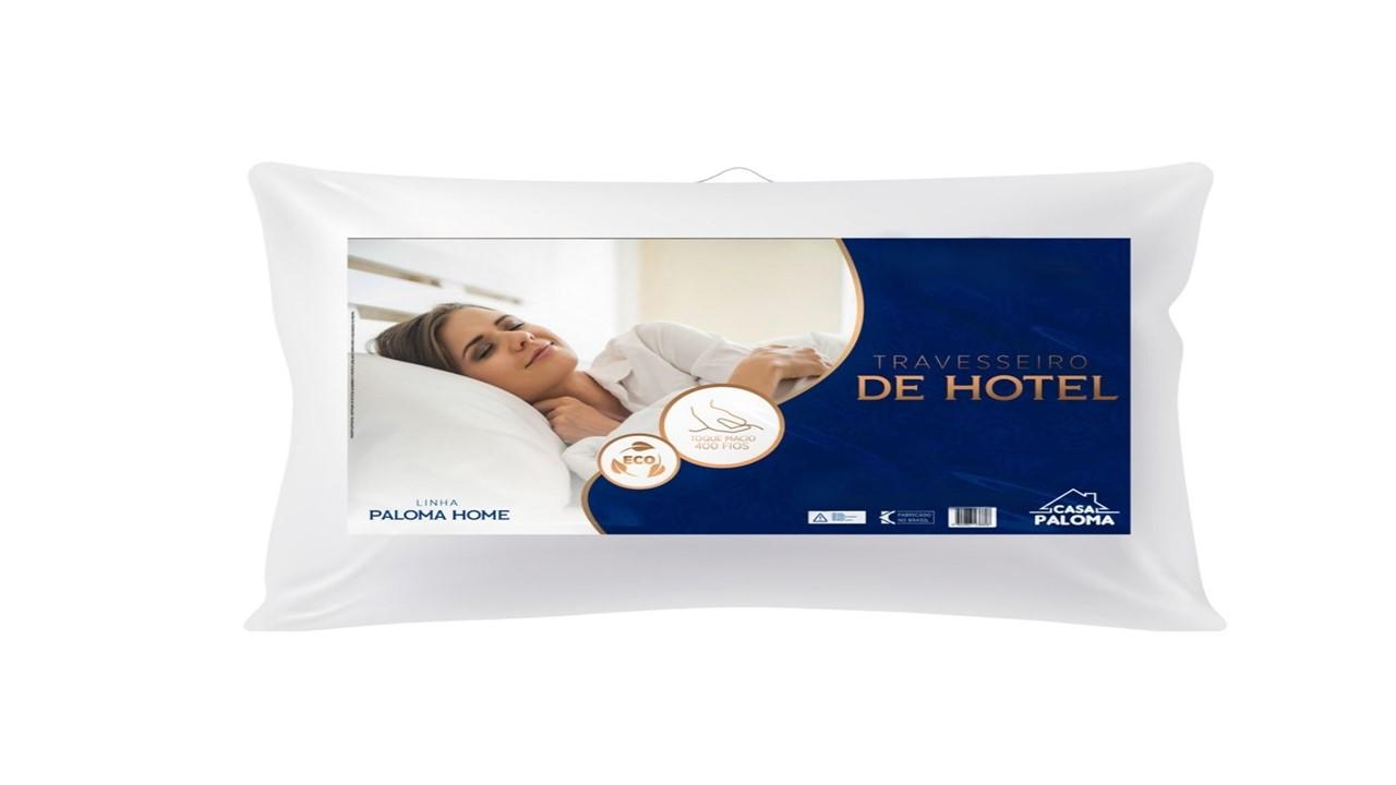 Travesseiro de Hotel King Premium Alto 50x90cm Paloma Home