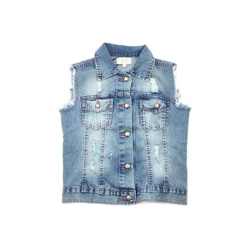 Colete Jeans Azevin 149018 (ref:149018)